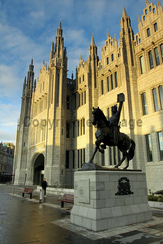 Marischal College, Aberdeen.