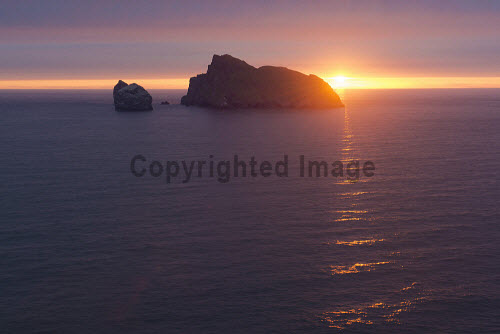 The archipelago of St Kilda, Outer Hebrides, Scotland uk,u.k,Great Britain,GB,G.B,Scotland,Scottish,nobody,outdoors,daytime,Summer,st kilda,Outer Hebrides,world heritage site,archipelago,coast,coastal,coastline,water,sea,island,islands,sunrise,dawn,atmospheric