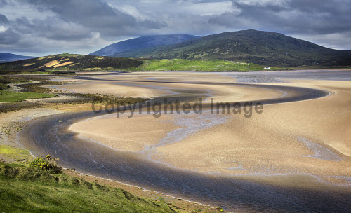 Kyle of Durness, Sutherland, Highlands of Scotland uk,u.k,Great Britain,GB,G.B,Scotland,Scottish,nobody,daytime,outdoors,highland,highlands,sutherland,beach,beaches,sand,sandy,coast,coastal,coastline,water,sea,kyle,durness