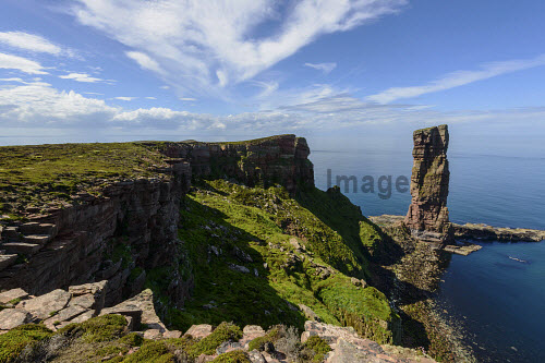 Old Man of Hoy, Hoy, Orkney Islands, Scotland. uk,u.k,Great Britain,GB,G.B,Scotland,Scottish,nobody,daytime,outdoors,Old Man Hoy,Hoy,Orkney,Isles,Island,Islands,old,man,pentland firth