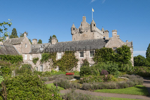 Cawdor Castle and Gardens  Highlands of  Scotland uk,u.k,Great Britain,GB,G.B,Scotland,Scottish,nobody,daytime,outdoors,Cawdor,Cawdor Castle,Garden,Gardens,summer,castle