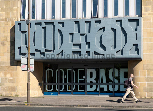 Exterior of technology incubator Codebase offices in Edinburgh