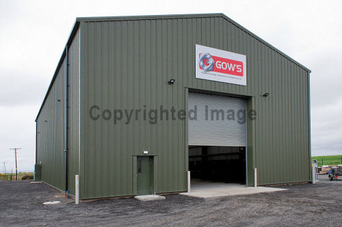 Gow's,  Lybster Ltd, Caithness  Exterior  Picture Credit Angus Mackay /HIE 2018,engineering,design,fabrication,installation,Gow's,apprentice,modern,apprentices