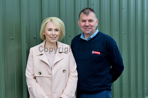 Gow's,  Lybster Ltd, Caithness   Director, Sandra Gow  and Wullie Robertson.  Picture Credit Angus Mackay /HIE 2018,engineering,design,fabrication,installation,Gow's