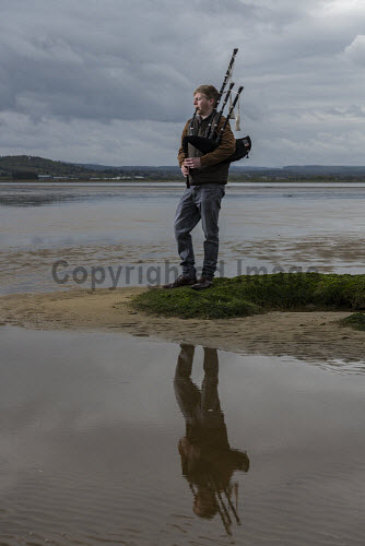 Burgess Bagpipes Ltd, Forres  Scott Hay seen here with pipes  Picture Credit John Paul/HIE 2018,bagpipes,bagpipe,music,production,pipes,piping,manufacture,manufacturing,manufacturer,design,product,playing