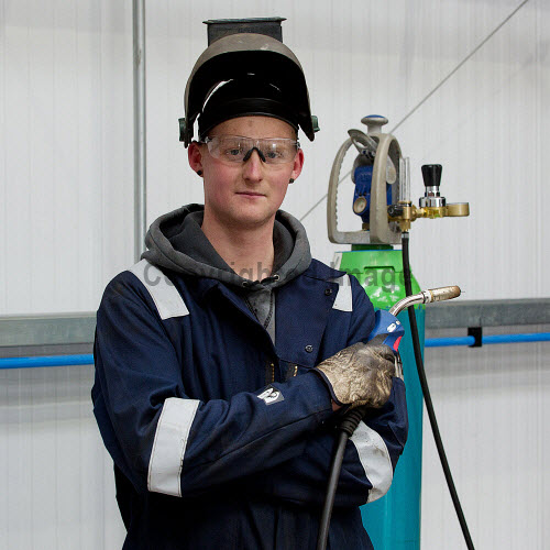 Gow's,  Lybster Ltd, Caithness  Callum Sutherland.  Picture Credit Angus Mackay /HIE 2018,engineering,design,fabrication,installation,Gow's,apprentice,modern,apprentices