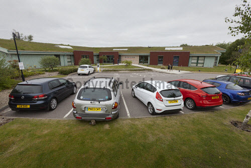 Horizon Scotland, The Enterprise Park Forres, Moray  Breakfast event at Horizon Scotland  The car park   Picture Credit Gary Doak/HIE 2018,attendees,breakfast,people,business,businesses,meeting,meetings,events,event,cars,car,park