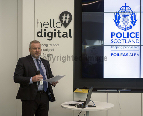 HIE Hello Digital Cyber Crime Awareness Chief Insp. Michael Sutherland  Police Scotland  PIC  Trevor Martin/HIE 2018,digital,crime,cyber,awareness,#HelloDigital