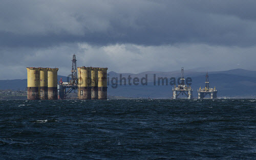 Oil Riggs, Cromarty Firth   Picture Credit Gillian Frampton/HIE 2018,riggs,rig,oil, nigg