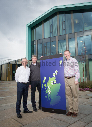 Selling Online  LTR  Ewan Ramsay David Gass and Stephen Whitelaw  Picture Credit Alison White/HIE 2018,inverness,campus,#BeBusinessBrave