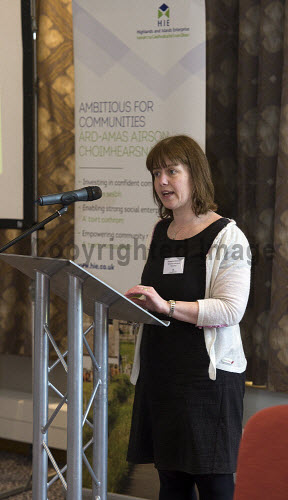 HIE CAM Event  Drummossie Hotel Inverness  26th April 2017  Jacqueline McDonell, Community Growth team   PIC. TREVOR MARTIN/HIE Community,Communities,Community led development,account management,CAM,LDO,Conference,event,Gaelic