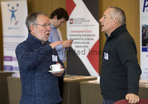 HIE CAM Event  Drummossie Hotel Inverness  26th April 2017  Brian Weaver (CEO of HISEZ) in conversation with Neil Ross (HIE Head of Community Growth)   PIC. TREVOR MARTIN/HIE Community,Communities,Community led development,account management,CAM,LDO,Conference,event,gaelic