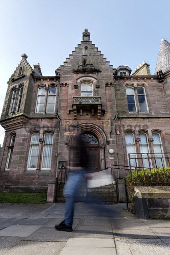 Eyemouth Town Hall, Church Street, Eyemouth   Picture by Gary Doak Photography/HIE 2017,SLF,urban,community,assets,town,hall