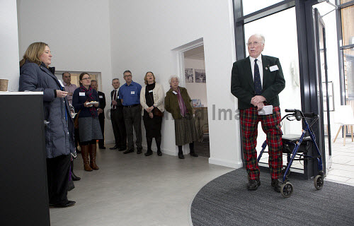 Dunoon - 24.2.17 - Fairmile Opening  The official opening of Fairmile Building, Dunoon.   Pictured - David Boyd of the Sceptre Preservation Society.  Stuart Nimmo Photography/ HIE 2017,Fairmile,dunoon,business,offices