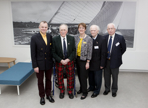 Dunoon - 24.2.17 - Fairmile Opening  The official opening of Fairmile Building, Dunoon.   Pictured - The Sceptre Preservation Society.  Stuart Nimmo Photography/ HIE 2017,Fairmile,dunoon,business,offices
