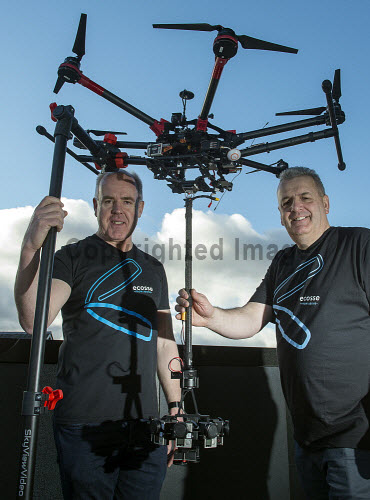 HIE Digtial Extra 17 digital conference  Richard Elliot and Craig Jump from Ecosse from Above Ltd PIC   Trevor Martin/HIE 2017,Eden Court,Inverness,drone,drones,#HelloDigital,#DiscoverDigital
