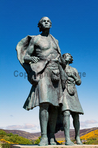 The Emigrants Statue, Couper Park, Helmsdale, Sutherland  Picture Credit Angus Mackay /HIE emigrants,statue,helmsdale,sutherland,monument