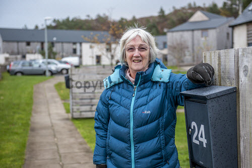 Plockton Housing 15/11/2016  Burnside housing development: Developed by Lochalsh & Skye Housing Association 24 units: affordable rent and shared equity Built on croft land Plockton Grazings Clerk Mrs Catherine Will Picture Credit Cailean Maclean/HIE 2016,community,shoot,Plockton,crofting,housing