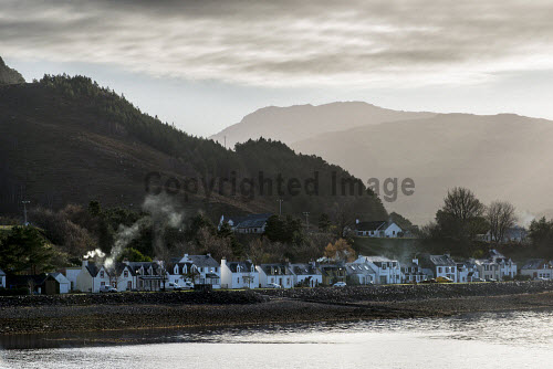 Shieldaig Township 15/11/2016  Former common grazings, partnership project between HSCHT, grazings committee, community council and Albyn Housing Society.  Mixed tenure of private ownership, shared equity, social rent and self build. Total of 15 units  No new housing potential.  Picture Credit Cailean Maclean/HIE 2016,community,shoot,shieldaig,crofting,housing
