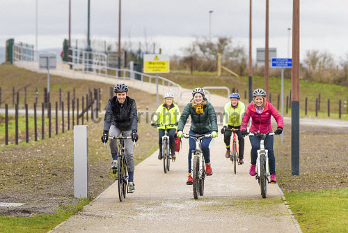 On 12th February 2016, the cycle and pedestrian link between Inverness Campus and Inverness Retail Park was opened, as part of a cycling advocacy event at Inverness College UHI.  Representatives of the project's funders - HIE, Sustrans and Hitrans - were all present at the event, together with the developers (Pat Munro Ltd and Torrance Partnership), the local cycle advocacy group, and Cllr Margaret Davidson and Drew Hendry (MP for Inverness, Nairn, Badenoch & Strathspey). Picture Credit Tim Winterburn /HIE Cycle,walk,walkway,link,Inverness,Campus,Retail Park,transport,HIE,2016,south bridge link,activity,activities,cycling,cyclist,cyclists,bike,bikes,biking,biker,bikers,bicycle,bicycles,people