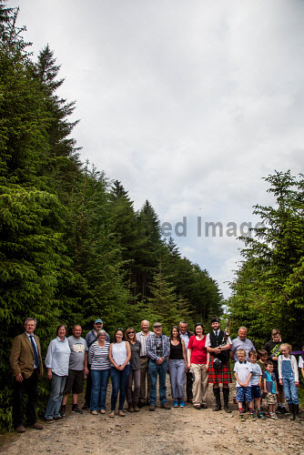 Tiroran Community Forest Opening, Isle of Mull 4/6/2016  People at the event  Picture Credit Sam Jones/HIE Tiroran Community Forest Opening,2016,South West Mull and Iona Development,community,forest