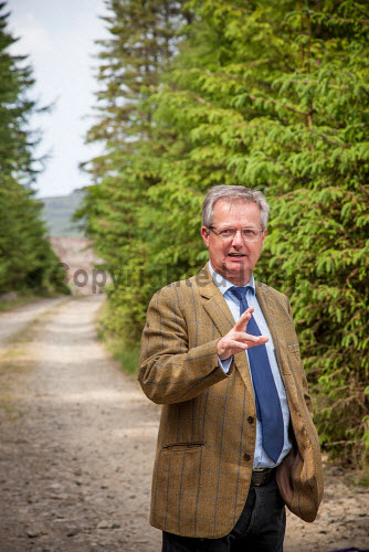 Tiroran Community Forest Opening, Isle of Mull 4/6/2016  Brendan O'Hara MP at the event  Picture Credit Sam Jones/HIE Tiroran Community Forest Opening,2016,South West Mull and Iona Development,community,forest