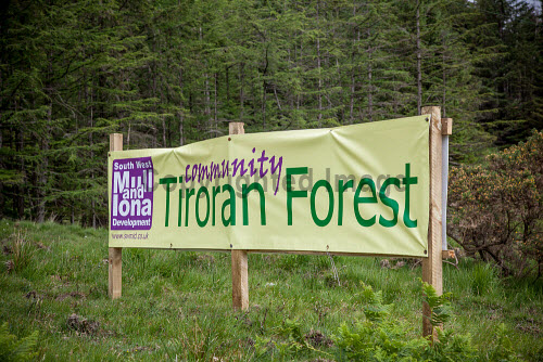 Tiroran Community Forest Opening, Isle of Mull