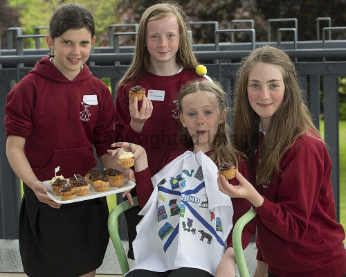 HI Social Enterprise. Schools Market Place and Awards Ceremony at Eden Court, Inverness. 3/6/2016  Banavie Primary School with their produce  Picture Credit : Trevor Martin /HIE 2016,inverness,schools,school,HI Social Enterprise,kids,kid,children,child