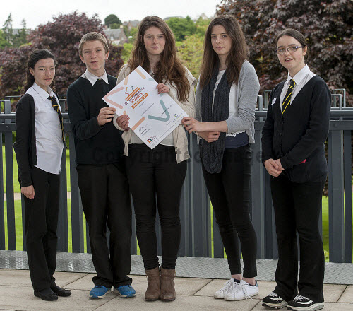 HI Social Enterprise. Schools Market Place and Awards Ceremony at Eden Court, Inverness. 3/6/2016  Plockton High School school with their awards  Picture Credit : Trevor Martin /HIE 2016,inverness,schools,school,HI Social Enterprise,kids,kid,children,child