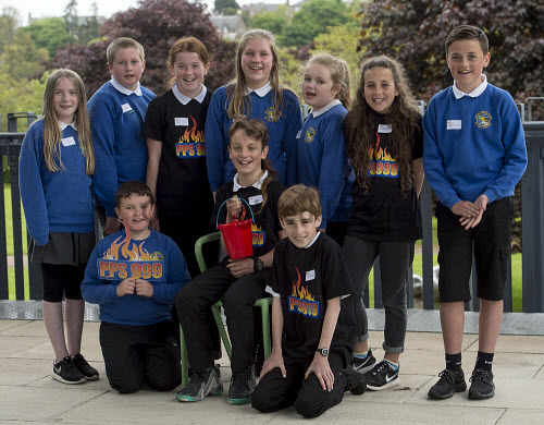 HI Social Enterprise. Schools Market Place and Awards Ceremony at Eden Court, Inverness. 3/6/2016  Portree Primary School school with their produce  Picture Credit : Trevor Martin /HIE 2016,inverness,schools,school,HI Social Enterprise,kids,kid,children,child,skye