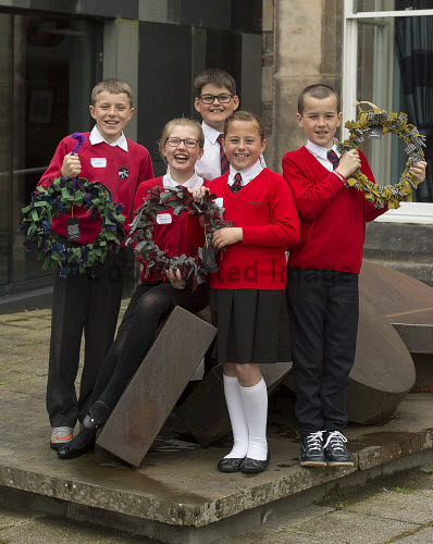 HI Social Enterprise. Schools Market Place and Awards Ceremony at Eden Court, Inverness. 3/6/2016  Sgoil An Rubha school with their produce  Picture Credit : Trevor Martin /HIE 2016,inverness,schools,school,HI Social Enterprise,kids,kid,children,child,lewis