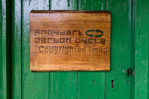 Knoydart 2016  Knoydart Carbon Cycle sign on the foor  Picture Credit Kenny Ferguson /HIE 2016,knoydart,inverie,remote