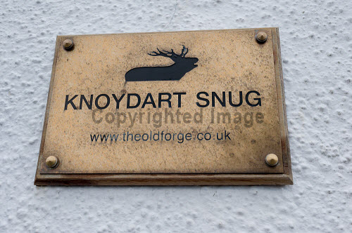 Knoydart 2016  A sign for the Knoydart snug in the Old Forge in Inverie  Picture Credit Kenny Ferguson /HIE 2016,knoydart,inverie,remote