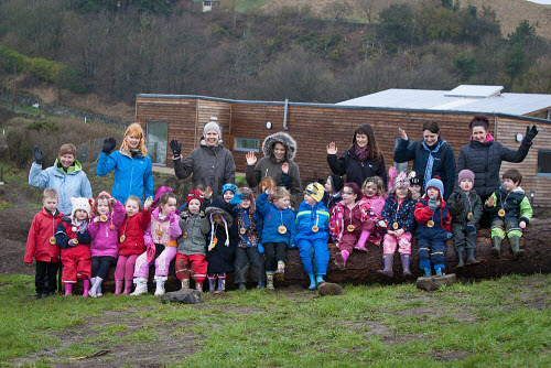 The Fife Ecology Centre, Kinghorn. 17 Feb 2016.   Visitors , children and staff   Picture Credit Tina Norris /HIE 2016,Fife Ecology Centre,HIE,ecology,children,child,kids