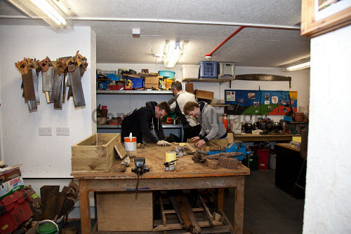 The Fife Ecology Centre, Kinghorn. 17 Feb 2016.  