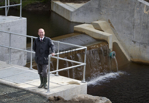 Lochgoilhead - 30.8.16 - Lochgoil Hydro  The Lochgoil Hydro scheme  Pictured - James Buchan Local Energy Scotland.  Picture Credit Stuart Nimmo /HIE 2016,hydro,power,green,water,renewable,donich water
