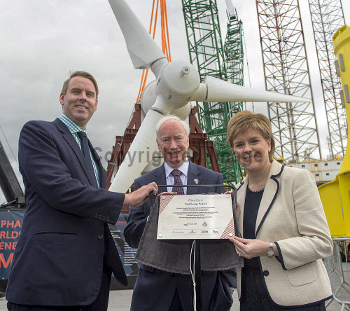 Tidal Energy Turbine Nigg