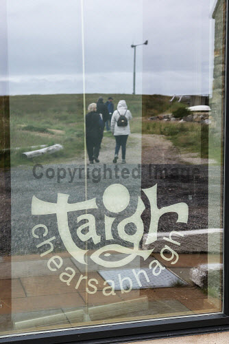 Taigh Chearsabhagh Museum and Arts Centre, Lochmaddy, North Uist   Exterior  Picture Credit Sandie Maciver 2016,gaelic,child,children learning