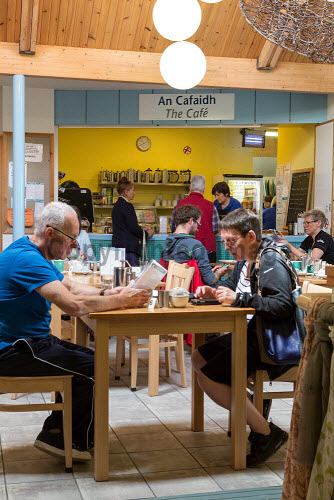 Taigh Chearsabhagh Museum and Arts Centre, Lochmaddy, North Uist   The cafe  Picture Credit Sandie Maciver 2016,gaelic,learning,tourist