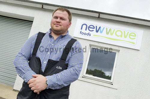 New Wave Foods, Wick, Caithness    Tom McGee, manager.  Pic Credit Angus Mackay 2016,New Wave,caithness,edible,seaweed,sustainable,food