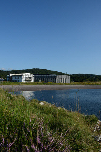 The European Marine Science Park, Dunstaffnage, near Oban in Argyll.  Pictured here, Malin House and SAMS   Picture Credit  Conner Somerville/HIE buildings,summer,2014,water