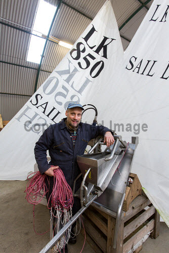 Sail Line Fish Ltd - uses a sail assisted commercial fishing vessel and is based at Lunnister, Sullom on Mainland, Shetland.