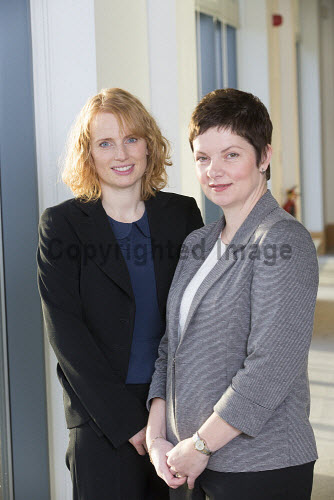 Elaine Hanton and Audrey MacIver, Joint Heads of Energy and part of the HIE Energy Team, Cowan House, Inverness, Highlands of Scotland.