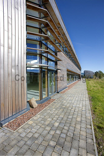 The European Marine Science Park, Dunstaffnage, near Oban in Argyll.