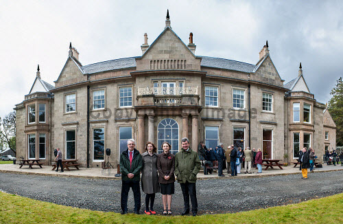 Raasay House was re-opened by The Rt. Hon. Charles Kennedy, MP after renovation on Friday 20/09/13