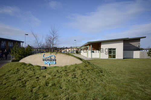 The Mohn Aqua building, Forres Enterprise Park, Moray..13.03.13..Picture Credit : Chris Robson / HIE 2013,highlands,islands,enterprise,winter,sunny,architecture,office,offices,modern,development,environment,work,working,life,sciences,investment,area,sign,signage