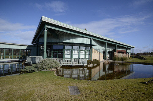 The Horizon Building, Forres Enterprise Park, Moray..13.03.13..Picture Credit : Chris Robson / HIE 2013,highlands,islands,enterprise,winter,sunny,building,architecture,office,offices,modern,development,environment,work,working,life,sciences,investment,area
