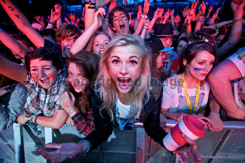 Fans at Belladrum Festival 2013For use by HIE across all media IMPERPETUITY. No third party use.Picture Credit Paul Campbell music,festivals,fan,excitement,girls,girl,woman. women,people,fun Paul Campbell