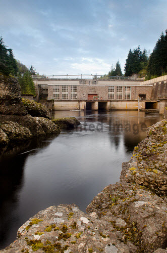 The Aigas Power Station dam on the River Beauly, Strathglass, near Beauly, Highland.  .16.05.12..Picture Credit : HIE 2012,hydro,scheme,hydroelectric,electricity,generation,generator,energy,renewable,renewables,gorge,Struy,Inverness-shire,beauty,Highlands,Islands,Enterprise