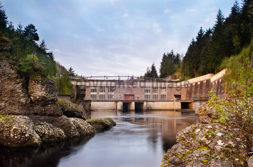 The Aigas Power Station dam on the River Beauly, Strathglass, near Beauly, Highland.  .16.05.12..Picture Credit : Tim Winterburn / HIE 2012,hydro,scheme,hydroelectric,electricity,generation,generator,energy,renewable,renewables,gorge,Struy,Inverness-shire,beauty,Highlands,Islands,Enterprise